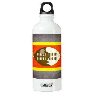 Sun kissed Swaziland Flag Water Bottle
