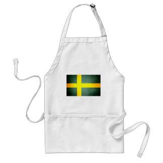 Sun kissed Sweden Flag Aprons