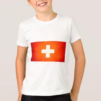 Sun kissed Switzerland Flag T-Shirt