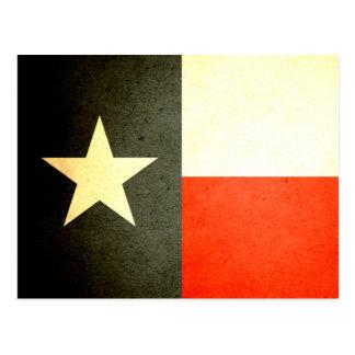 Sun kissed Texas Flag Postcard