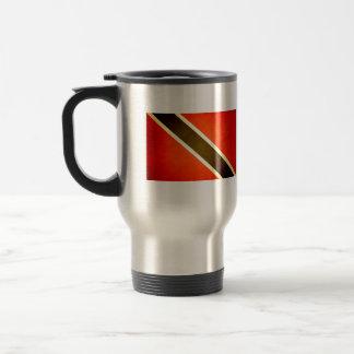 Sun kissed Trinidad and Tobago Flag Coffee Mugs