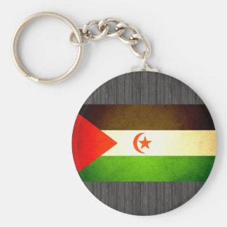 Sun kissed Western Sahara Flag Key Chains