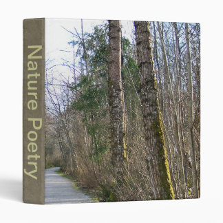 Sun-kissed Winter Branches 3 Ring Binder