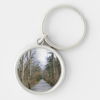 Sun-kissed Winter Branches Keychain