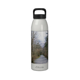 Sun-kissed Winter Branches Reusable Water Bottle