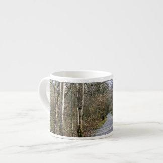 Sun-kissed Winter Branches 6 Oz Ceramic Espresso Cup