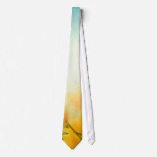 Sun Kissed Yellow Tulips Men's Tie