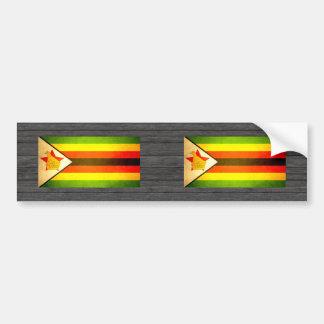 Sun kissed Zimbabwe Flag Bumper Stickers