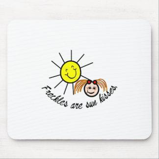 Sun kisses mouse pad