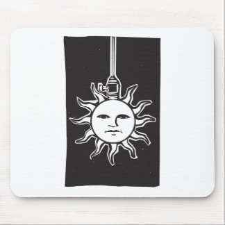 Sun Lamp Mouse Pad