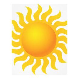 Sun Letterhead