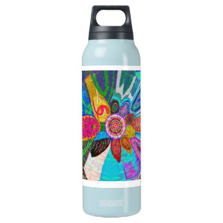 SUN Life Force on earth Insulated Water Bottle