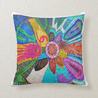 SUN Life Force on earth Throw Pillow