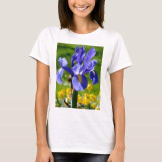Sun light on blue iris T-Shirt