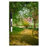 Sun light on Prunus Park Dry-Erase Whiteboard