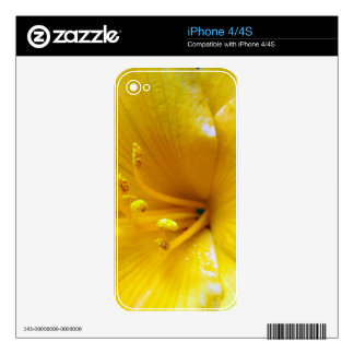 Sun Lily Skins For iPhone 4S