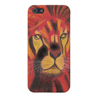 SUN LION CASE FOR iPhone SE/5/5s