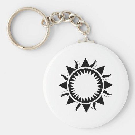 Sun Llavero Personalizado