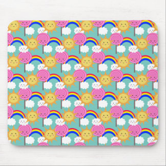 Sun Lolly Rainbow, mousepad