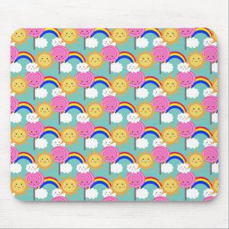 Sun Lolly Rainbow, mousepad