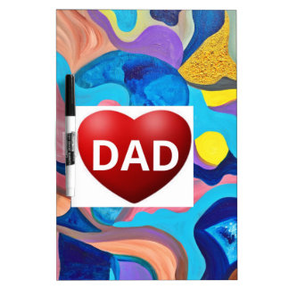 Sun Love Dad Dry-Erase Board