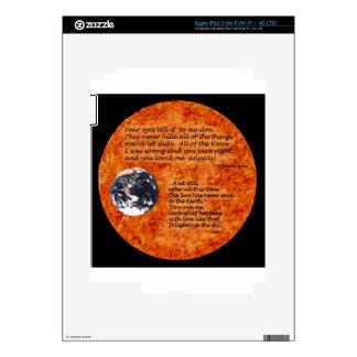 Sun Love iPad 3 Decal