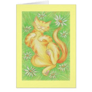 Sun Lover 'Thank you' card