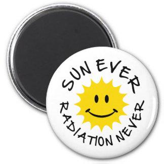 sun refrigerator magnet