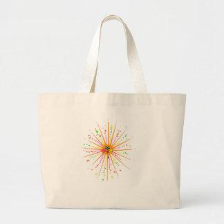 Sun mancha #2 bolsa tela grande