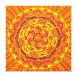 Sun Mandala Gallery Wrapped Canvas