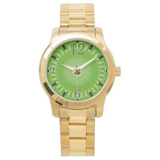 Sun Mandala green Watch