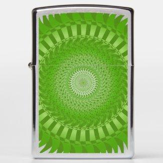 Sun Mandala green