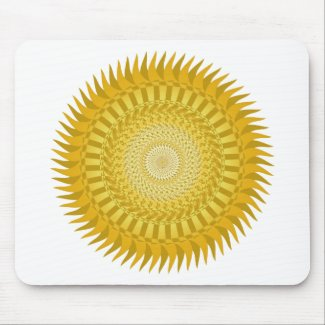 Sun Mandala in Yellow