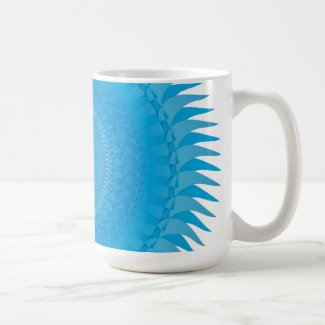 Sun Mandala Light blue