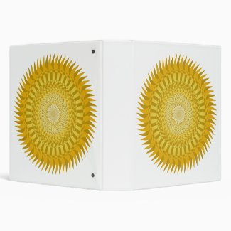 Sun Mandala yellow