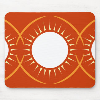 Sun Medallion Mouse Pad