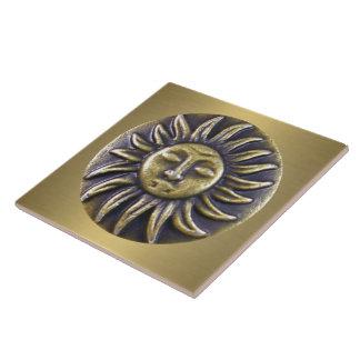 Sun Medallion Tile