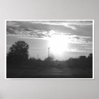 Sun meridional póster