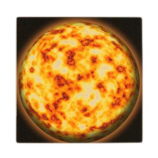 Sun Posavasos De Arce