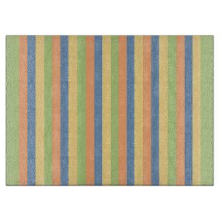 Sun mojó colores rayados tablas de cortar
