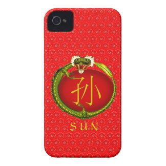 Sun Monogram Dragon iPhone 4 Cover