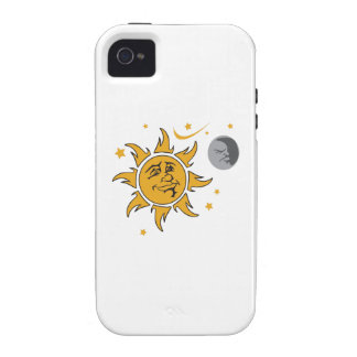 SUN MOON AND STARS iPhone 4 COVERS