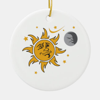 SUN MOON AND STARS ORNAMENTS