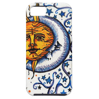 SUN MOON ART DESIGN iPhone SE/5/5s CASE