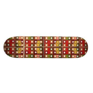 SUN Moon Bindi Shine Design Custom Skate Board