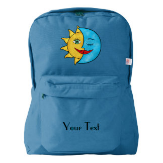 Sun Moon Celestial theme Backpack