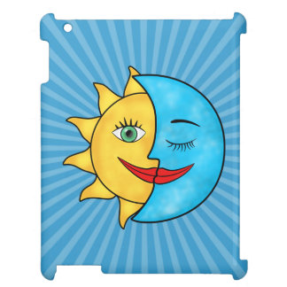 Sun Moon Celestial theme Case For The iPad