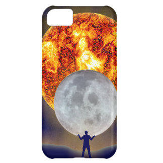 Sun Moon Earth iPhone 5 iPhone 5C Cover