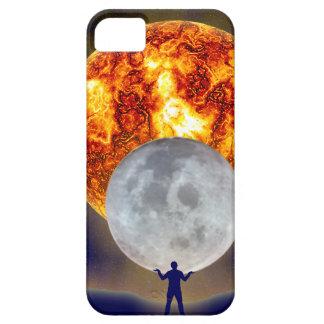 Sun Moon Earth iPhone 5 iPhone SE/5/5s Case