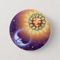 Sun & Moon Faces Button